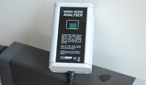IsoTek Mains Noise Analyser